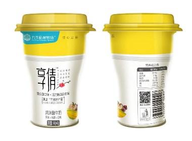 享倩酸奶包装