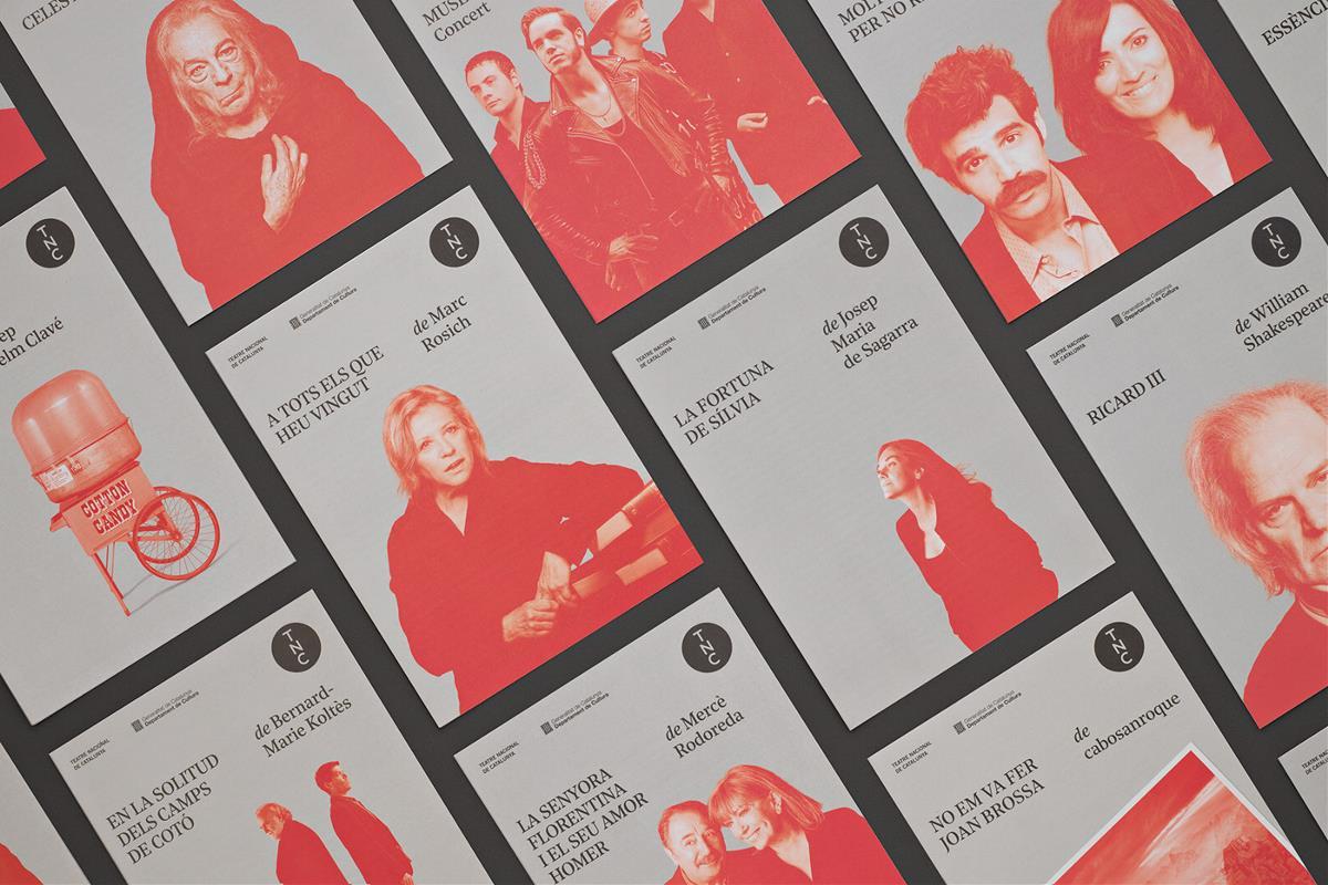 加泰罗尼亚国立歌剧院 视觉品牌设计