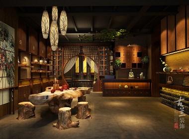 成都专业茶楼设计|成都专业茶楼设计公司|古兰装饰