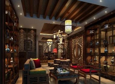 成都茶楼设计|成都专业茶楼设计|成都特色茶楼设计|古兰装饰