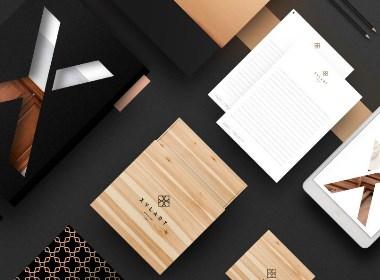 现代古典家具品牌包装设计