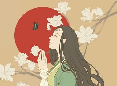 饺子酒的插画欣赏