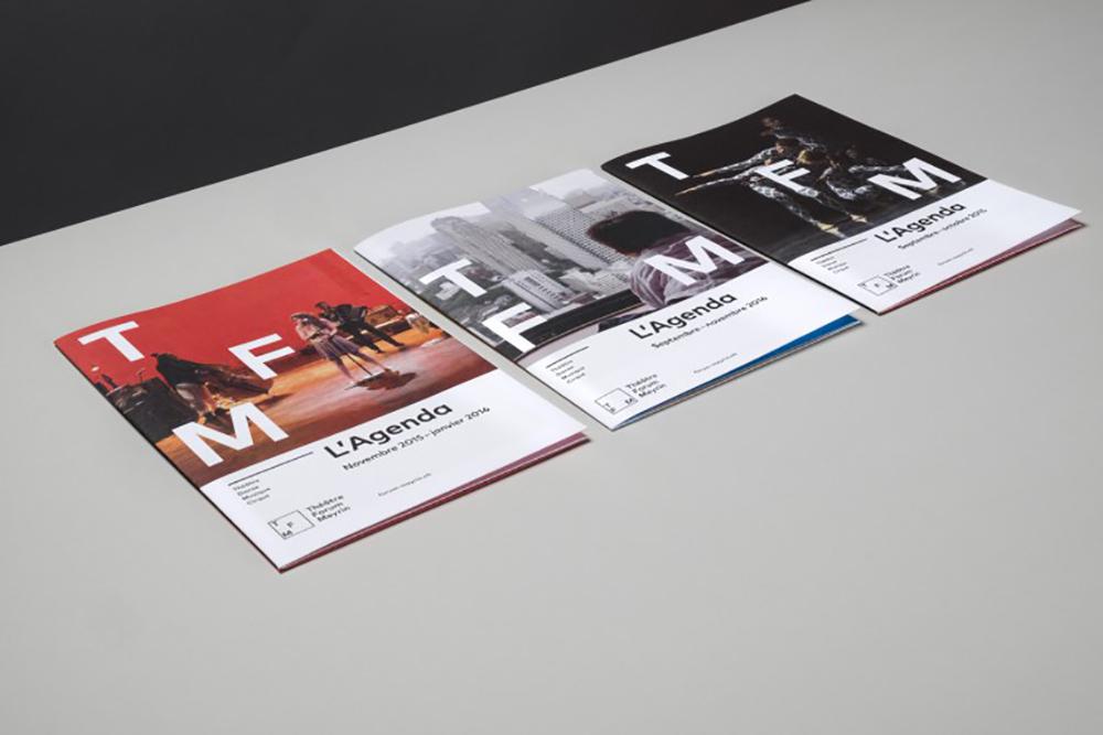Thatre Forum Meyrin 剧院音乐厅宣传册