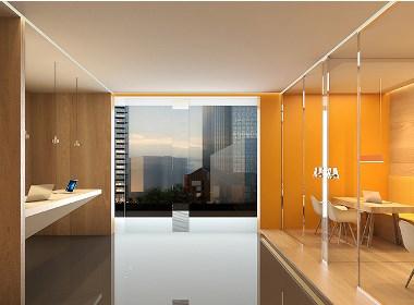 北京美诺餐饮办公室设计