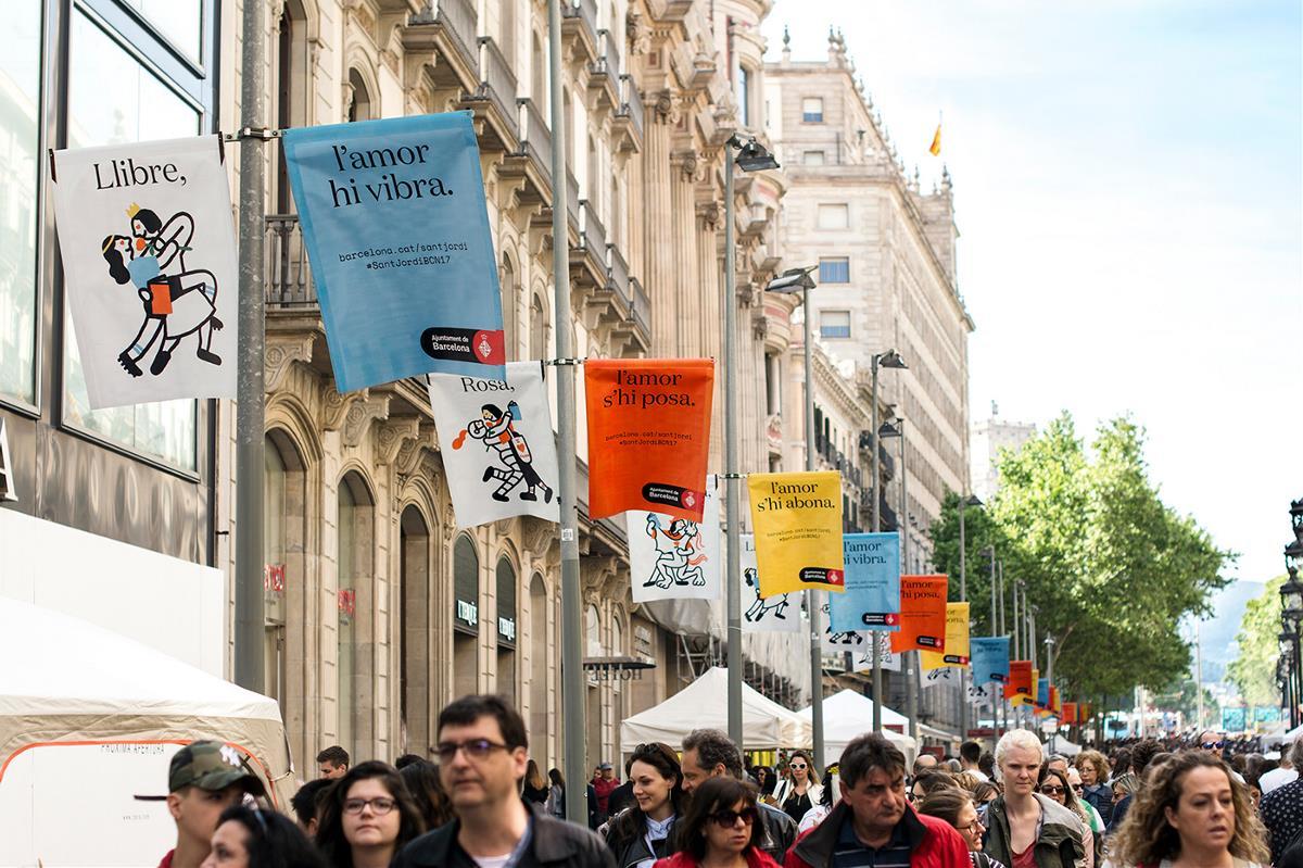 Sant Jordi Barcelona 品牌形象设计