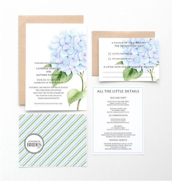 美好的婚礼邀请函 