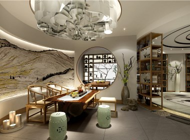 千然女子会所《风雅之寂》——香港高迪愙设计事务所(北京)