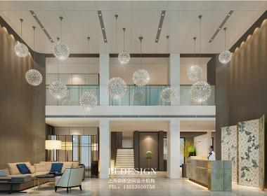 郑州商务酒店设计公司作品推荐:鑫城玫瑰精品商务酒店设计案例