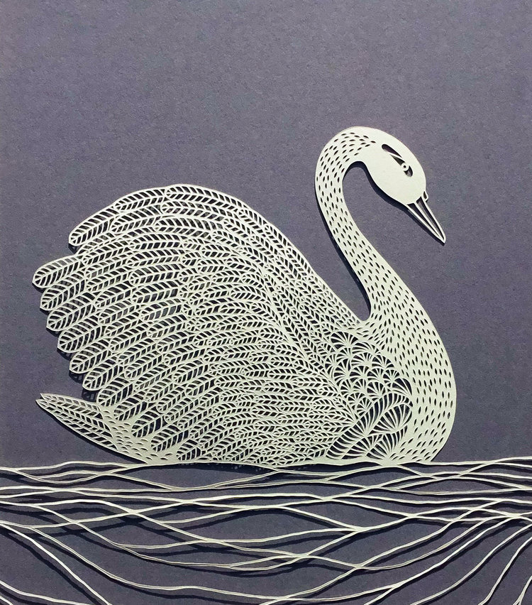 Pippa Dyrlaga 的剪纸艺术