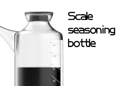 Scale seasoning bottle