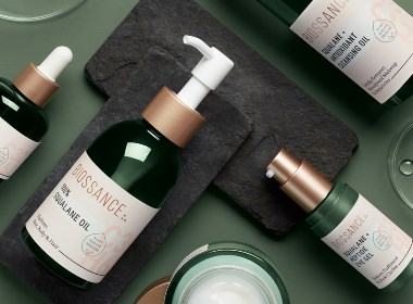 Biossance护肤品牌包装设计