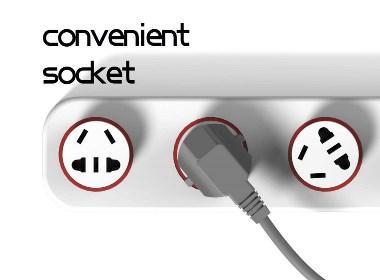 convenient socket