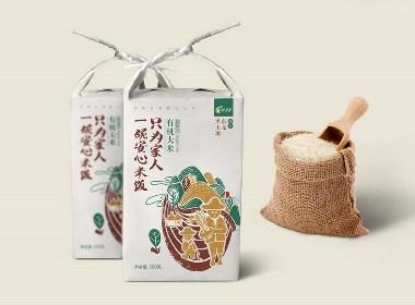 天地农道-大米包装