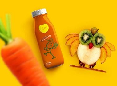 蔬菜果汁混合饮料包装设计