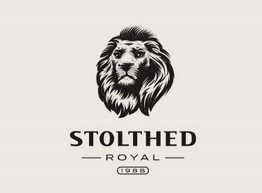 一组复古风格的logo设计
