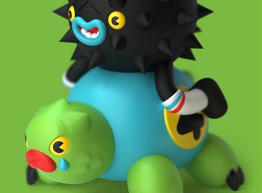 乌龟玩具设计