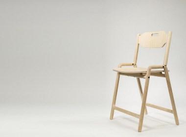 Foldin椅子工业设计