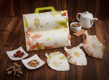 茶草药包装设计