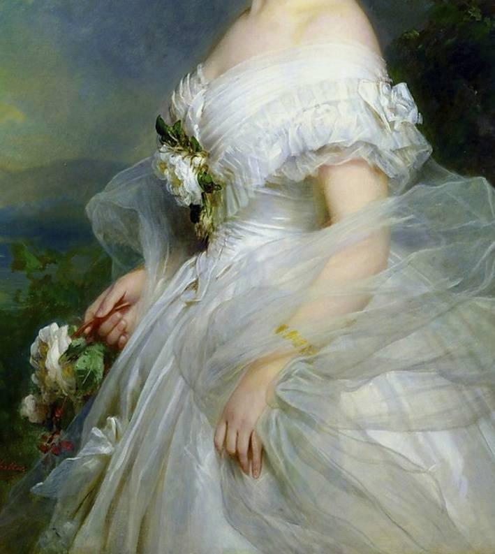 画家Franz Xaver Winterhalter肖像作品