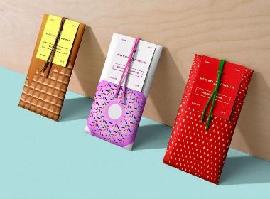巧克力棒包装设计