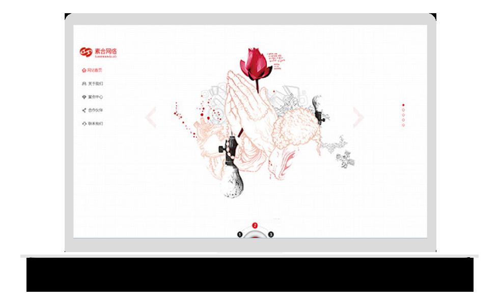 素合网络有限公司网站设计