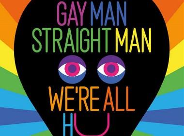 Love Happens Here 纪念在英格兰及威尔士同性恋部分合法化 50 周年海报