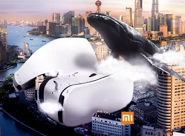 小米VR创意合成海报