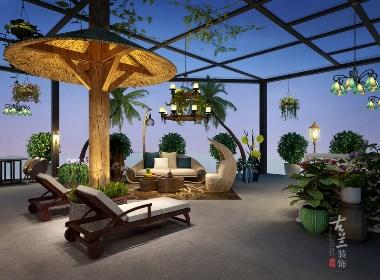 南丫岛海鲜自助餐厅——成都专业海鲜餐厅装修|成都餐厅装修公司|古兰装饰