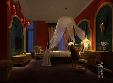 阆中醉卧天地酒店综合体设计——成都专业主题酒店设计公司|古兰装饰