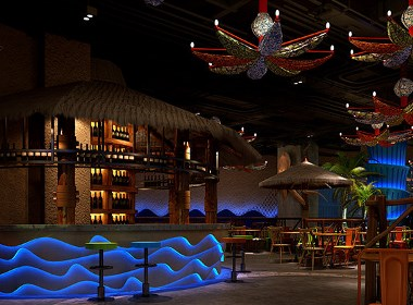 古兰装饰|West Bay海鲜餐厅设计-成都专业特色海鲜餐厅设计公司