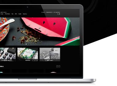 两枚茶叶网站设计