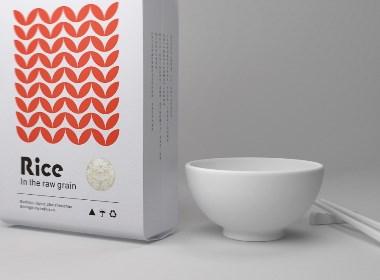 Rice-大米包装设计