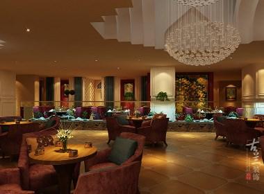 郫县豪亭咖啡厅设计-成都专业咖啡厅设计|古兰装饰