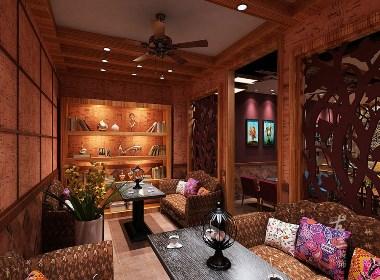 波西米亚风格咖啡厅设计——成都特色咖啡厅设计|古兰装饰