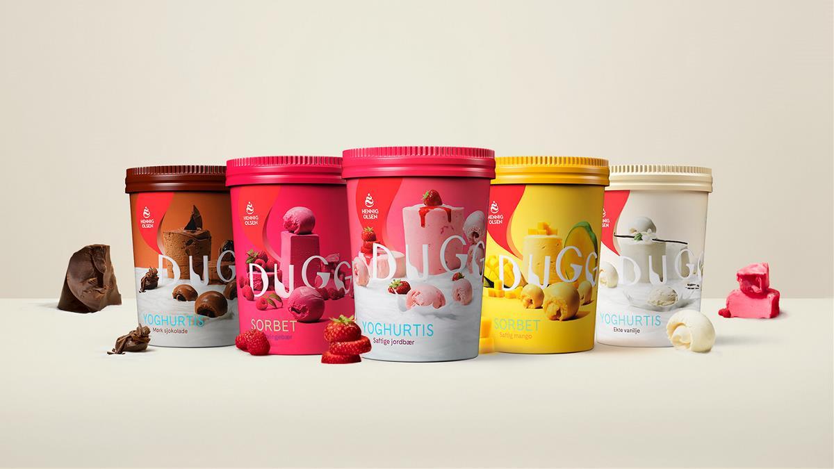 冰淇淋包裝設計