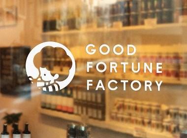 GOOD FORTUNE FACTORY 日本食品小吃品牌设计