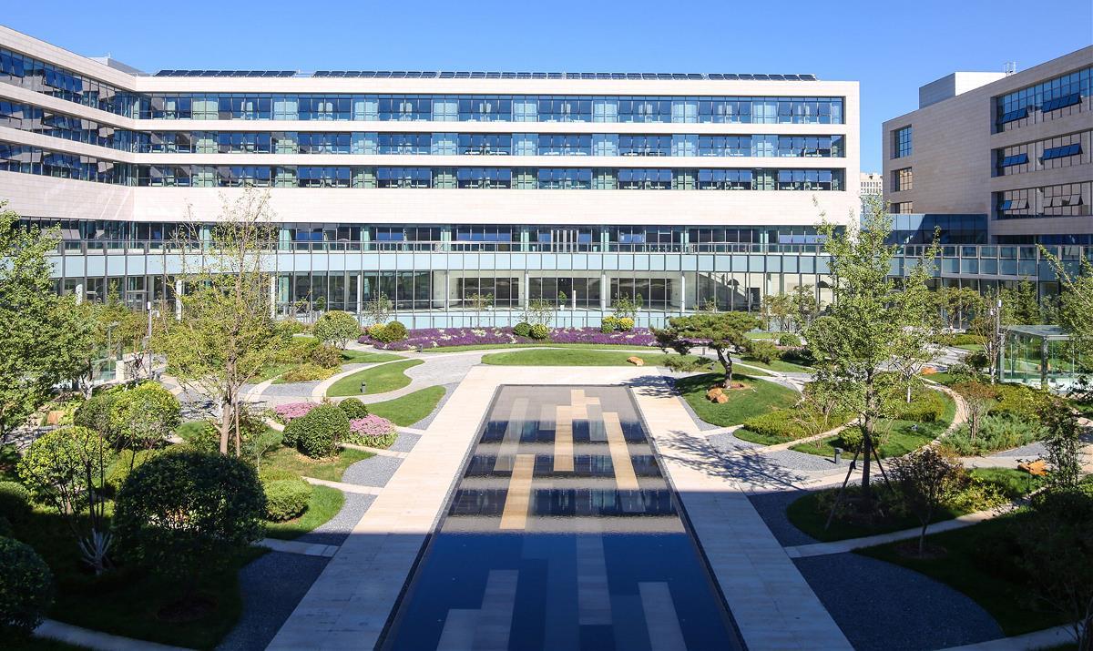 泰康商学院中心庭院