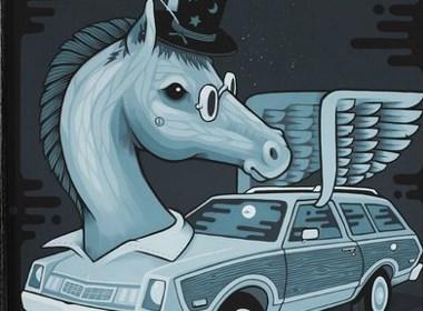 萌死人不偿命的动物车插画欣赏