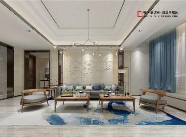 北京山水文园新中式——《山水峻节》高迪愙设计作品