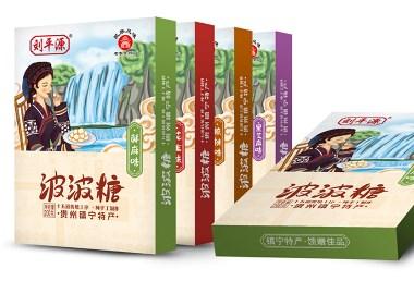 火星人设计作品之贵州特产镇宁波波糖食品包装设计