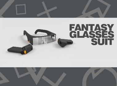 """""""幻想""""智能眼镜套装 Fantasy glasses suit"""