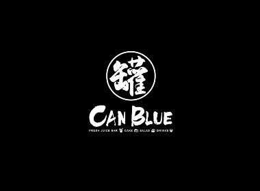 CAN BLUE 罐