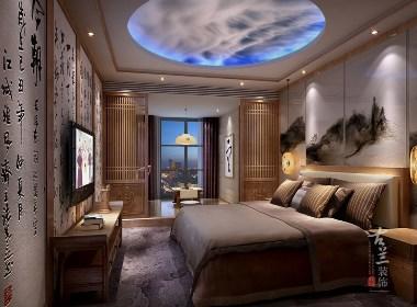 茗山居主题酒店设计案例赏析——成都专业主题酒店设计公司|古兰装饰