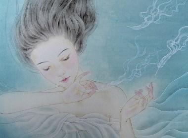 蓝调之《梦像雾一样散去》插画欣赏
