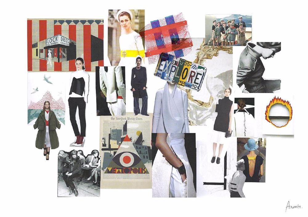 [艺术留学]服装设计留学作品集案例