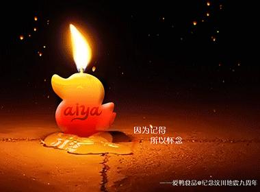 纪念汶川地震九周年宣传海报