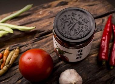 奇味鲜豆酱包装设计