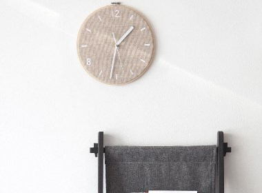 Fabric Clock for munito工业设计欣赏