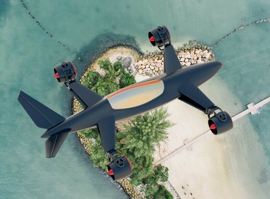 超帅气的空中赛车