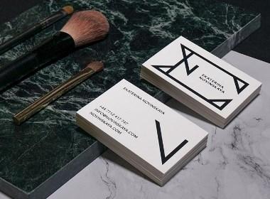 Ekaterina Novinskaya化妆师品牌设计
